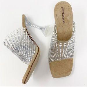 JEFFREY CAMPBELL x FREE PEOPLE transparent heels